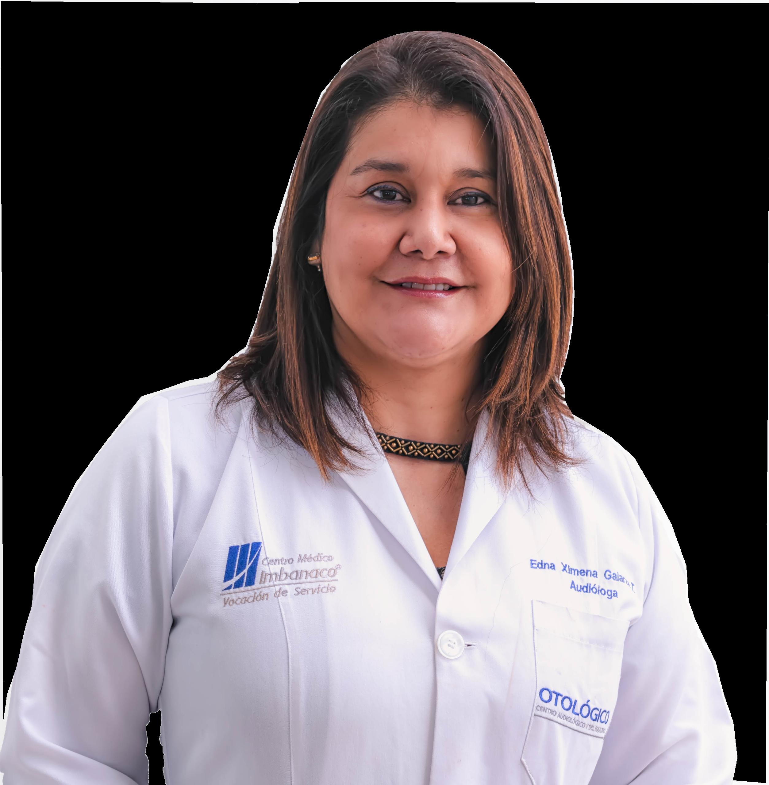 Audiologa Edna Ximena Galarza Tamayo